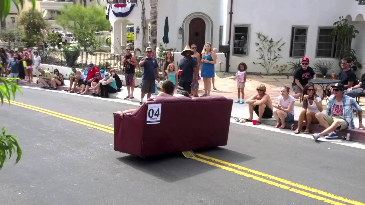 & 2013 San Clemente Office Chair Race - YouTube