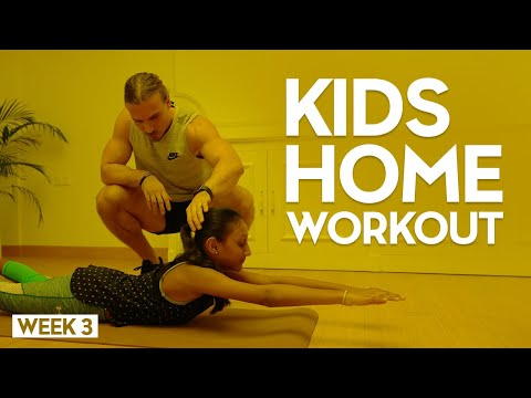 Fortius EDU - Kids Workout - Home Workout Program For Kids (Week 3)