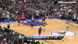 Miami Heat vs. Philadelphia 76ers (Full Recap) March 13, 2013