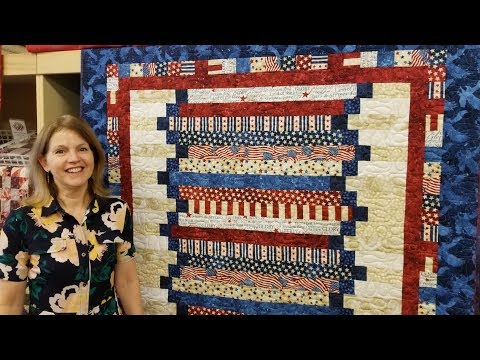 Step Ladder Quilt | Americana Style!