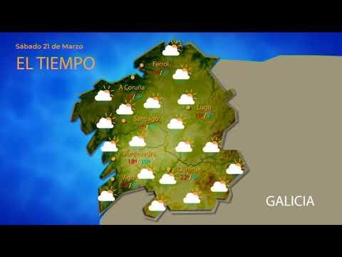Previsión do tempo en Ourense para o fin de semana do 21 e 22 de marzo