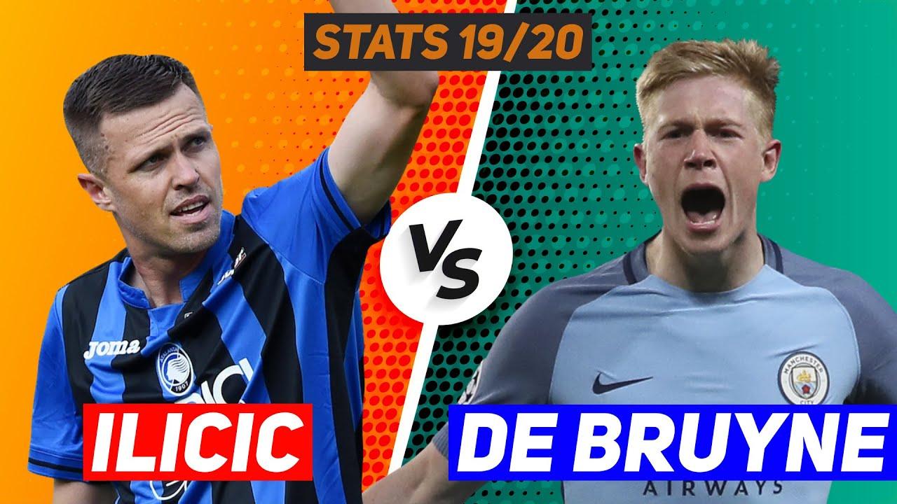 Josip Ilicic vs Kevin De Bruyne [Detailed stats comparison ...