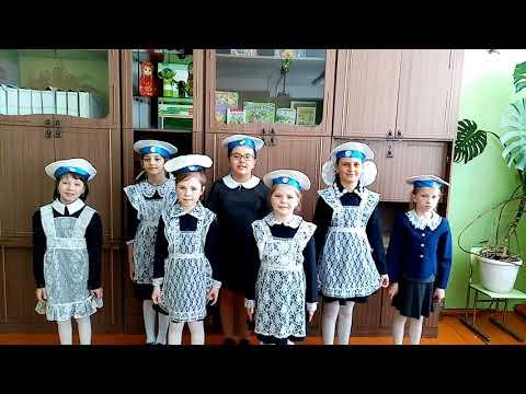 Поздравление с 23 февраля, 3 Б класс девочки