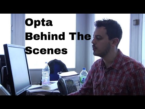 Opta Sports Analytics - Behind The Scenes And Interviews With The Sports Data Mavens