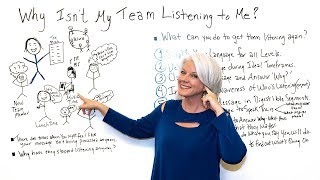 Why Isn't My Team Listening To Me? - Project Management Training