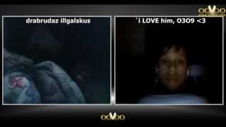 """Est:O3O92O12"" me & my boyfriend on ooVoo :*"