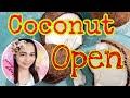 coconut open
