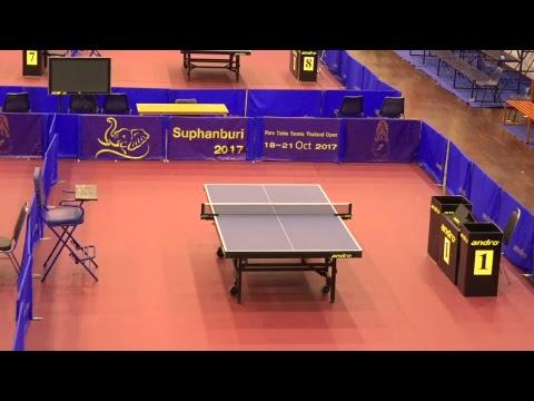 Para Table Tennis Thailand Open Suphanburi 2017 T1 18/10/17