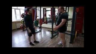 Базовые упражнения на развитие физической силы борца.