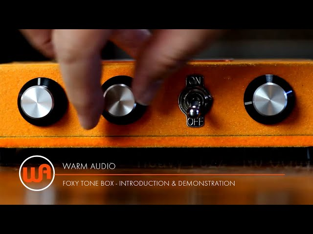 Warm Audio // Foxy Tone Box - Introduction & Demonstration