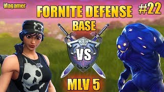 Fortnite Saving the World Defense Morne the Valley 5 in SOLO #22