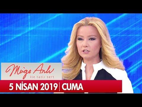Müge Anlı ile Tatlı Sert 5 Nisan 2019 Cuma - Tek Parça