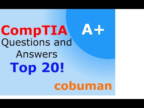 Comptia A+ Certification 220-801 Top 20 Sample Questions and Answers