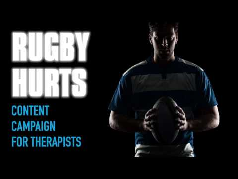 Rugby Hurts Content Marketing Kit for Physical and Manual Therapists