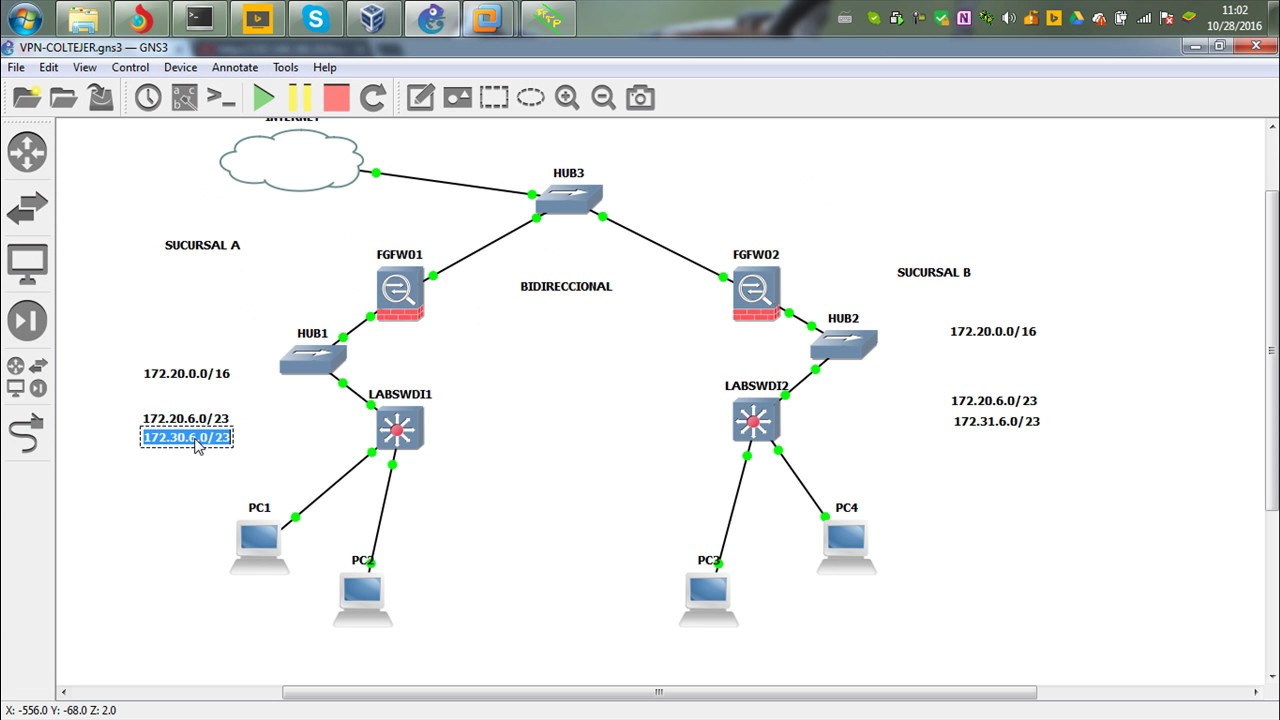 FORTIGATE – IPSEC S2S VPN WITH OVERLAPPING SUBNETS – DYNAMIC NAT, STATIC NAT