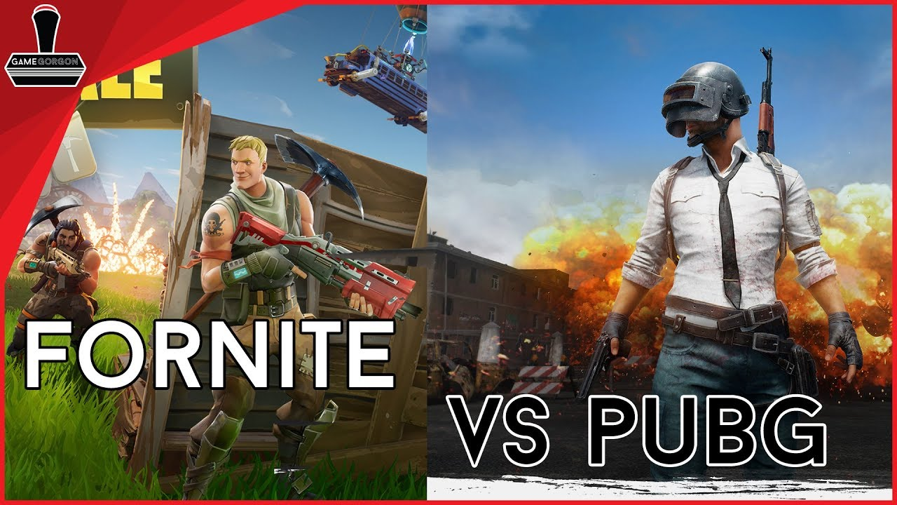 GameGorgon: Fortnite Vs PUBG