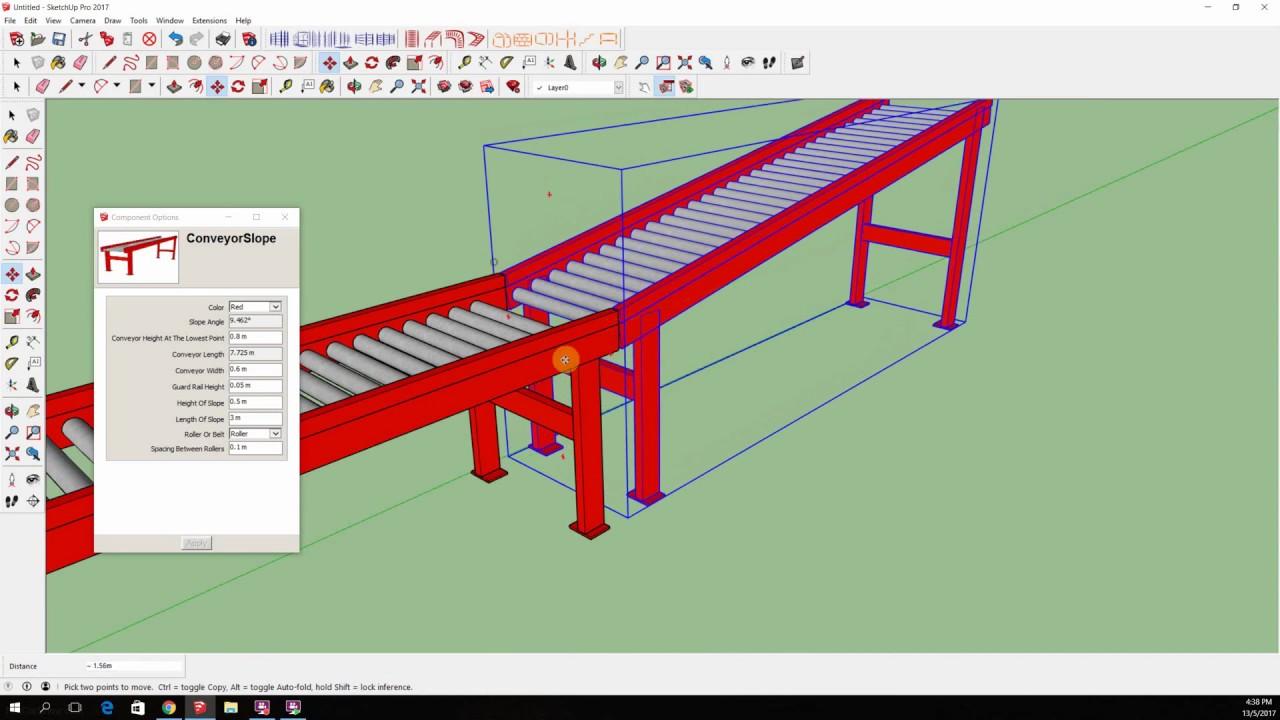 WarehouseBlueprint | Sketchup Dynamic Components