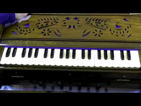How to play - Sun Raha Hai Na Tu (male version) on Harmonium