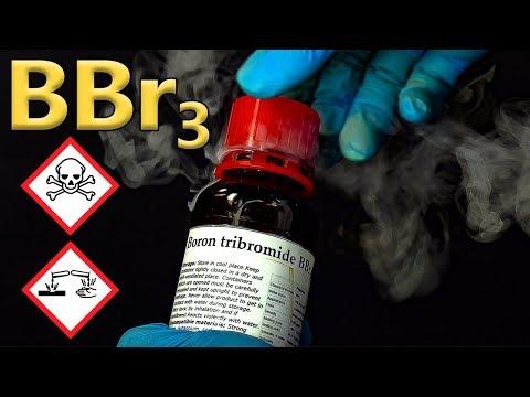 BBr3: Boron Tribromide. Shock-sensitive Alkali Metals