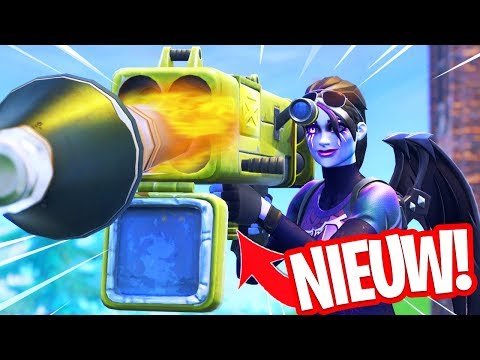 LEGENDARY QUAD LAUNCHER WAPEN TESTEN!! IS DIT WAPEN TE STERK? Fortnite Gameplay