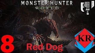 Monster Hunter: World Odogaron the big Red Dog