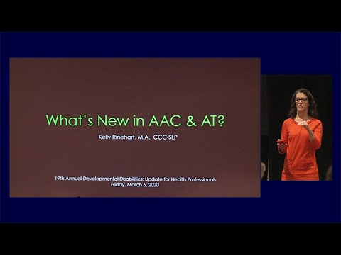 Whats New with Augmentative Communication and Assistive Technologies