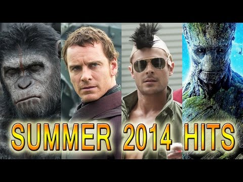 Summer 2014 Biggest Movie Hits: Guardians, Apes & More!