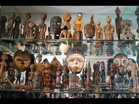Video Overview of my TRIBAL ART COLLECTION in Open Storage (5 of 7)