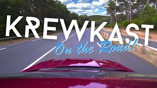 KREWKAST #032: Unser Roadtrip, Tesla Model X & linksgrünversiffte Landromantik!