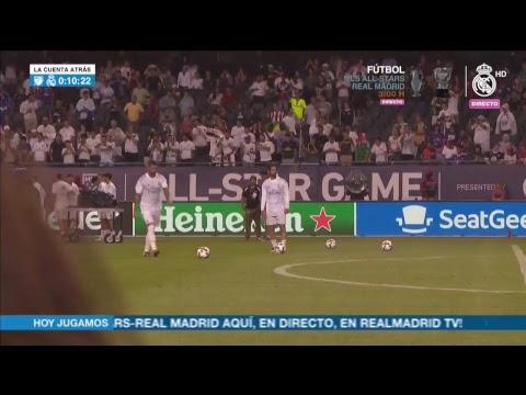 MLS All-Stars vs Real Madrid | Warm-up