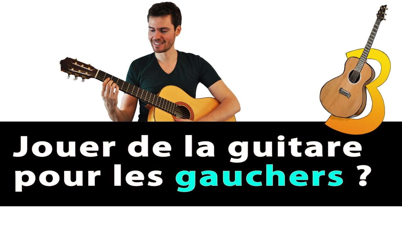 guitare gaucher jouer