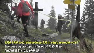 Schneeberg trail 2014