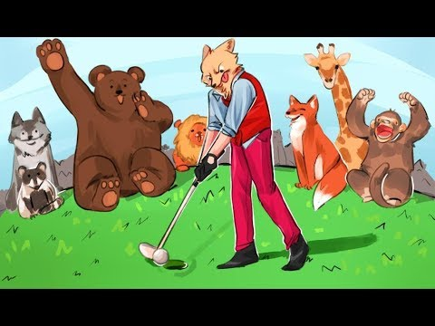 ANIMALS GO RAMPANT! - Golf It Funny Moments