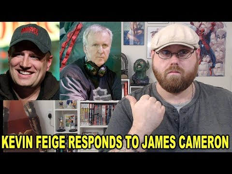 Kevin Feige Responds to James Cameron!!!