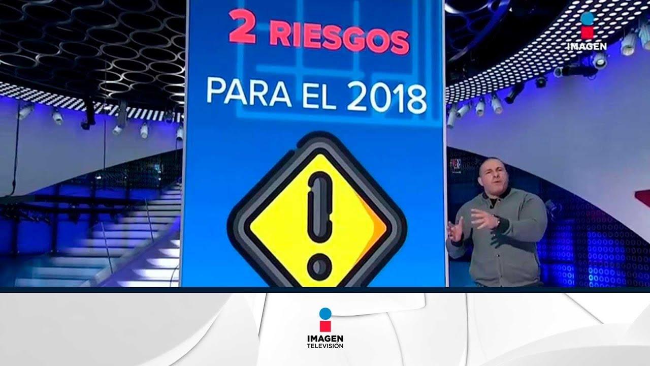 Estos son los riesgos de la economía mexicana para el 2018 | Noticias con Ciro