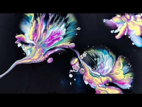 What you need for SUCCESSFUL DIP ~ Acrylic Pouring ~ Materials, tips and tricks ~ Fluid art - Fiona Art