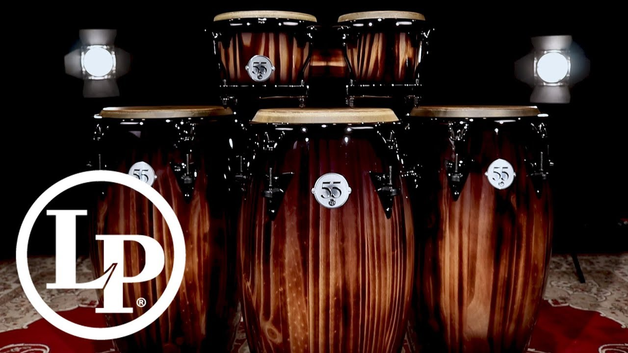 lp 55th anniversary congas and bongos youtube. Black Bedroom Furniture Sets. Home Design Ideas