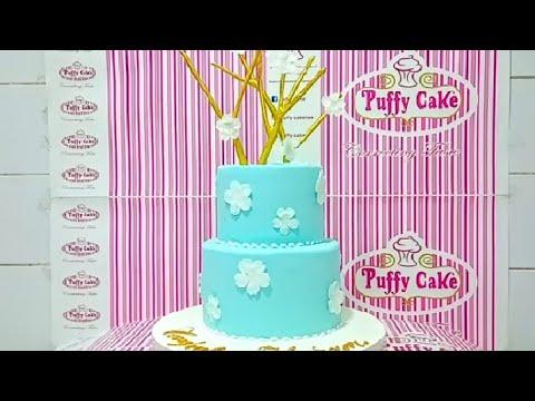 rustic-simple,-wedding-cake- -fondant-cakes- -design-ideas