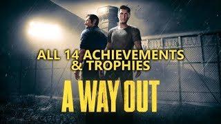 A Way Out - ALL 14 Achievements/Trophies Guide - Walkthrough, Easter Eggs & Secrets