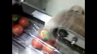 fresh tomato packing machine with tray,vegetable packing  machine
