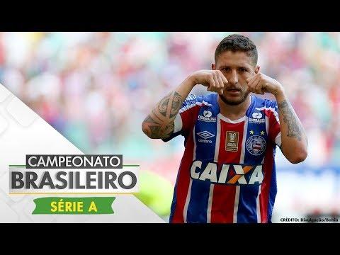 Melhores Momentos - Bahia 1 x 1 Coritiba - Campeonato Brasileiro (30/09/2017)