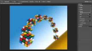 קליקיט פיתוח עסקי באינטרנט - לימוד פוטושופ - Path Blur Tool