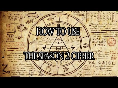 [Tutorial] How to use the Gravity Falls Season 2 Cipher [Key Vigenère] (decode the message)