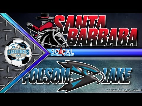 CCCAA Women's Soccer Semifinal: Santa Barbara v Folsom Lake - 12/1 - 7pm