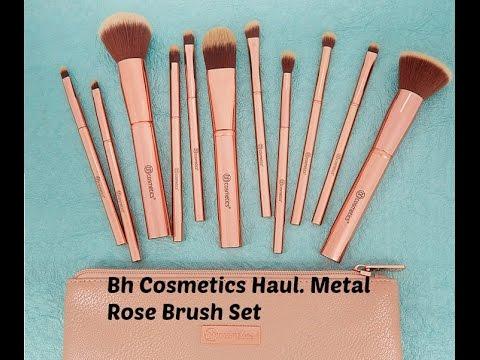 c9b597173666 Bh Cosmetics Review!! Metal Rose Brush Haul - YouTube