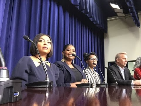 #HiddenFigures🚀 cast & filmmakers  LIVE from the White House!