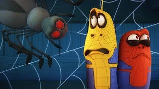 LARVA - SPIDER BITE  Cartoons For Children  LARVA Official