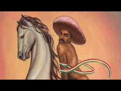 """Anuncia familia de Emiliano Zapata acciones contra artista y Bellas Artes por el """"Zapata gay""""."""