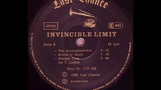 The Invincible Spirit - Wasted Time (B3)