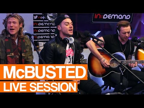 McBusted - Sleeping with the Light On | Live Session